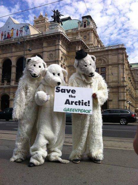 Кампания Гринпис в защиту Арктики от промышленного освоения
