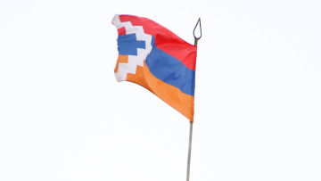 Флаг и герб Нагорно-Карабахской Республики
