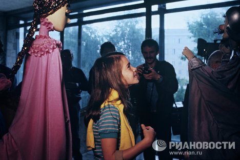 Саманта Смит в театре кукол