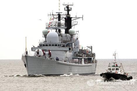 """Корабли международных военно-морских учений """"Фрукус - 2012"""""""