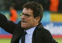 Главный тренер сборной Англии Фабио Капелло