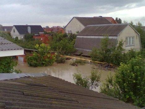 Крымск наводнение репортер