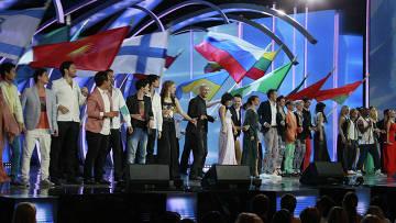 """Открытие Международного конкурса """"Новая волна 2012"""" в Юрмале"""
