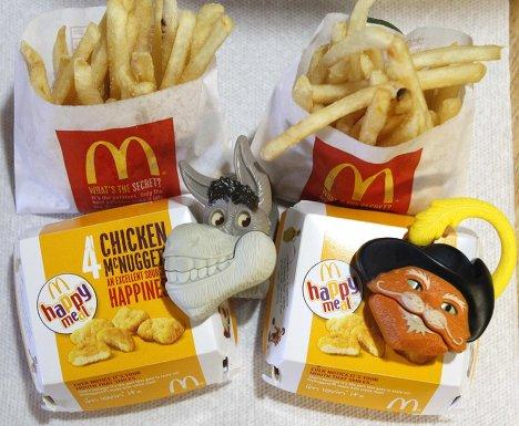 Набор Happy Meal в Международной сеть быстрого питания McDonald's