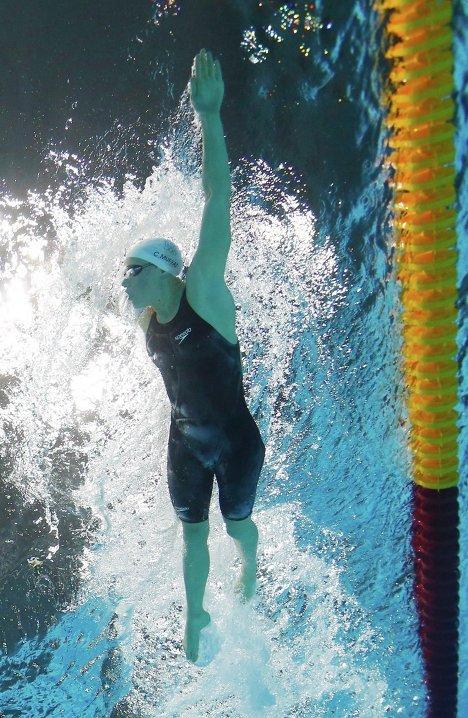 Француженка Мюффа на 400-метровке