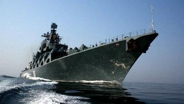 Крейсер Тихоокеанского флота «Варяг»