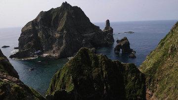 Острова Токто в Японском море