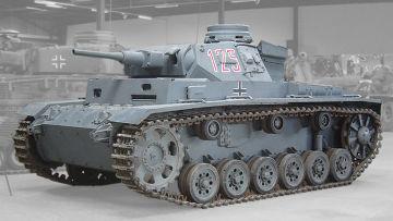 Немецкий средний танк времён Второй мировой войны Panzer III