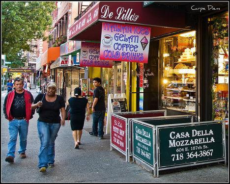 На улице Нью-Йорка