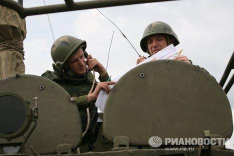 Тактические учения 74-й отдельной гвардейской мотострелковой бригады СибВО