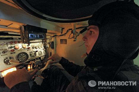 Танковое училище в Чите, которое посетил президент РФ Д.Медведев