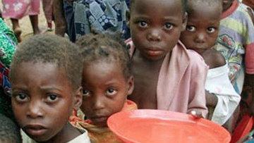 Голодающие дети