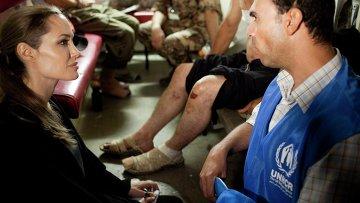 Посланник доброй воли ООН Анджелина Джоли в Иордании