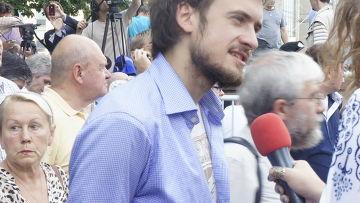 Петр Верзилов, супруг Надежды Толоконниковой, находящейся по