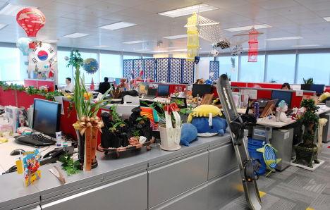 Офис Google в Корее