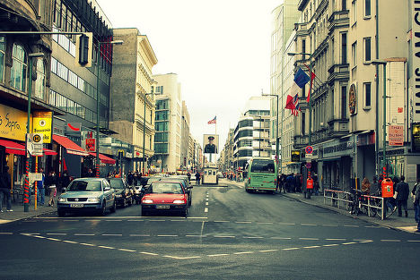Улица Берлина, Германия