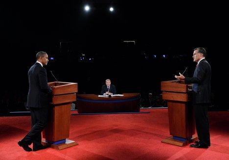 Первые предвыборные дебаты Барака Обамы и Митта Ромни