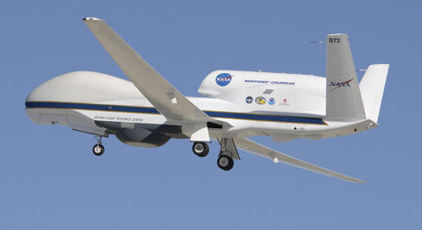 Беспилотный самолет НАСА