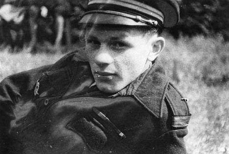Французский военный летчик Ролан де Ла Пуап
