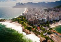 Побережье океана в Бразилии