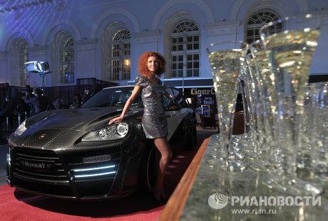 Гала-открытие выставки Millionaire Fair Moscow