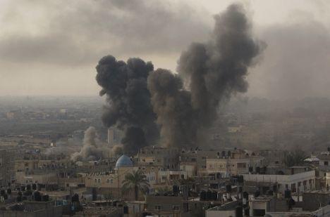 «Облачный столп» над Газой