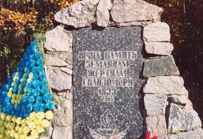 Памятник жертвам голодомра на Украине