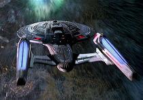 Кадр из фильма «Звездный путь 8: Первый контакт»