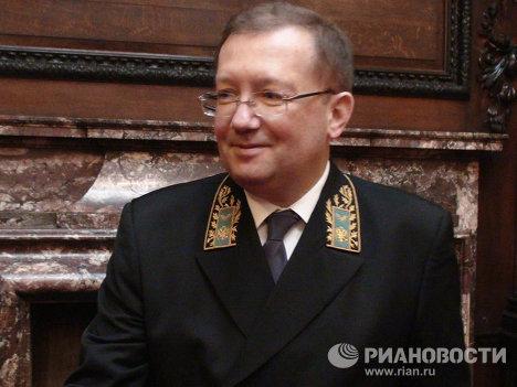 Приём в посольстве РФ в Лондоне по случаю вручения верительных грамот королеве Елизавете II новым послом в Великобритании Александром Яковенко.