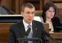 Эдгар Ринкевич, министр иностранных дел Латвии