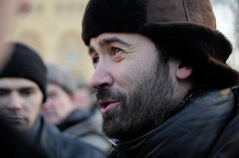 В Москве прошел несанкционированный митинг оппозиции