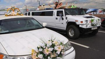 Свадебные гуляния в Москве