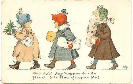 Рождественская открытка (1908)