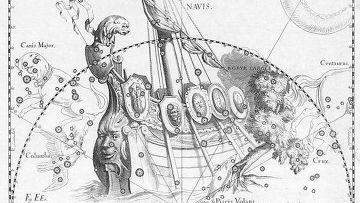 созвездие корабль