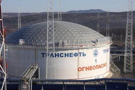 Нефтеперекачивающая станция ВСТО в Сковородино