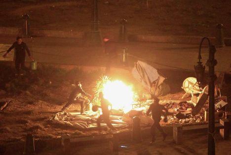Массовые беспорядки в Каире