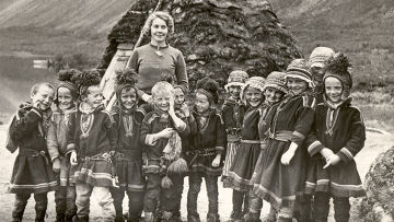 Школа для саамских детей в Швеции