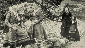 Девушка народа саами