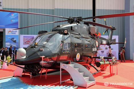 Новый индийский боевой вертолет HAL Rudra