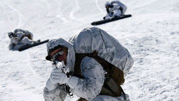 Южнокорейские и американские морские пехотинцы на учениях