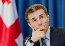Пресс-конференция премьер-министра Грузии Бидзина Иванишвили