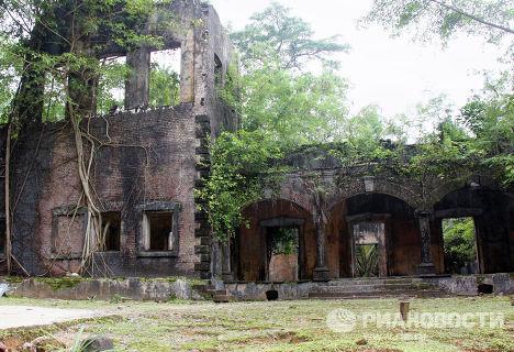 Остатки тюремного комплекса строгого режима на острове Росс