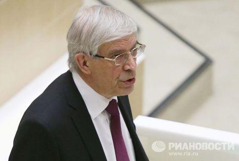 Председатель Центрального банка РФ Сергей Игнатьев