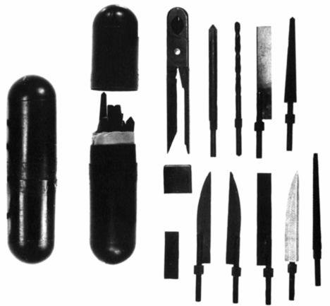 Инструменты для подготовки побега