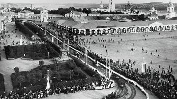 Жители Костромы готовятся к встрече императора Николая II