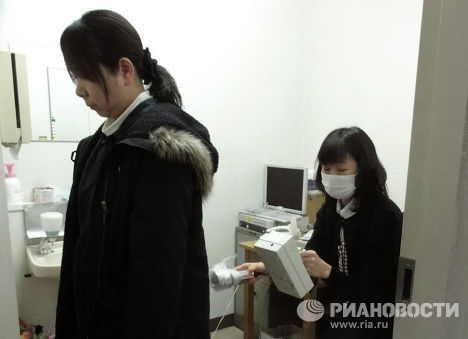 Измерение радиации в городской больнице