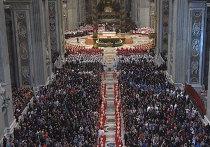Торжественная месса в Соборе св. Петра в Ватикане