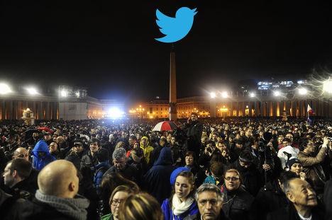 Твиттер над Ватиканом