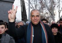 Лидер оппозиционной партии «Наследие» Раффи Ованнисян