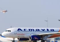 """Самолет A-319 (EK-32012) авиакомпании """"Армавиа"""". Архив"""